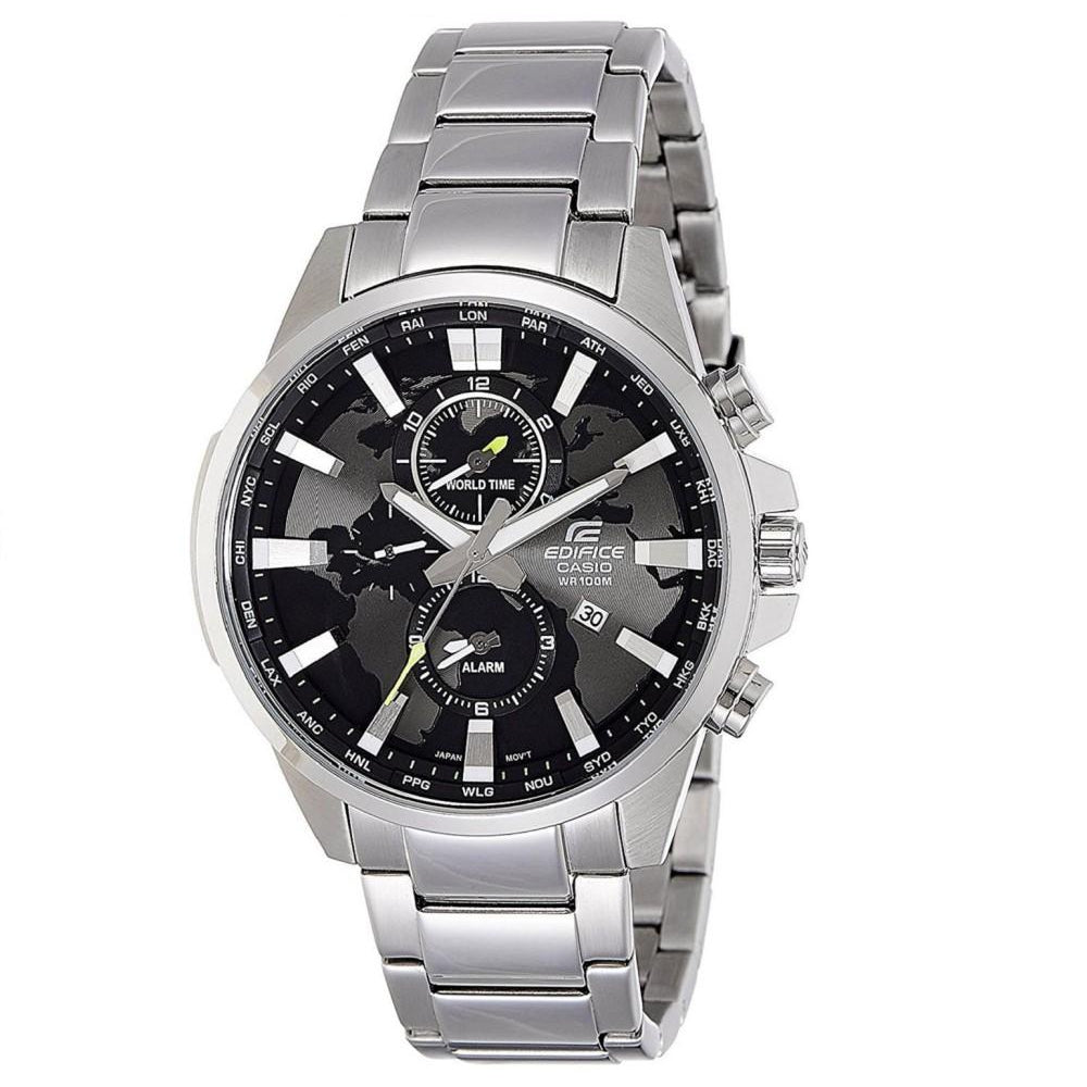 Casio Edifice Dual Time Steel Men's Chrono Watch - EFR303D-1A