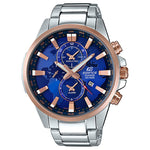 Edifice Illuminator Series Dual World Time Men's Watch - EFR303PG-2A