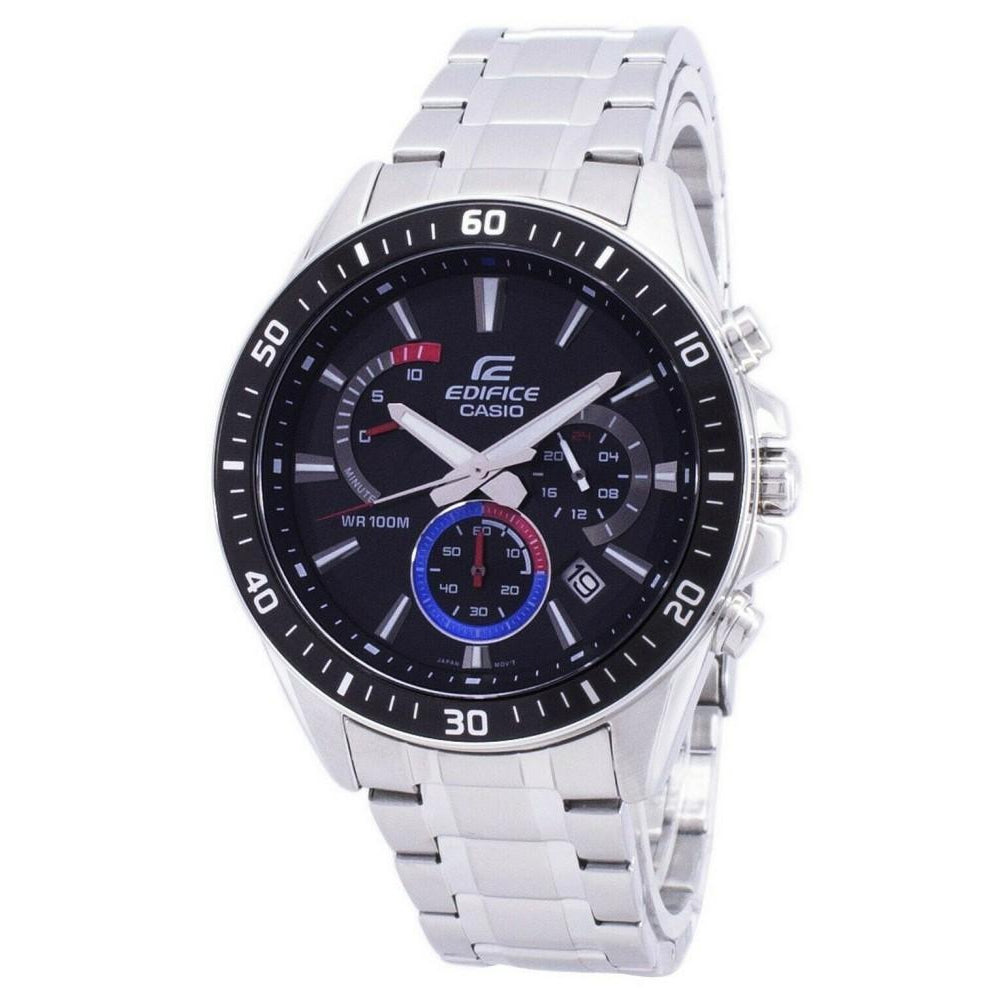 Casio Edifice Retrograde Steel Men's Chrono Watch - EFR552D-1A3