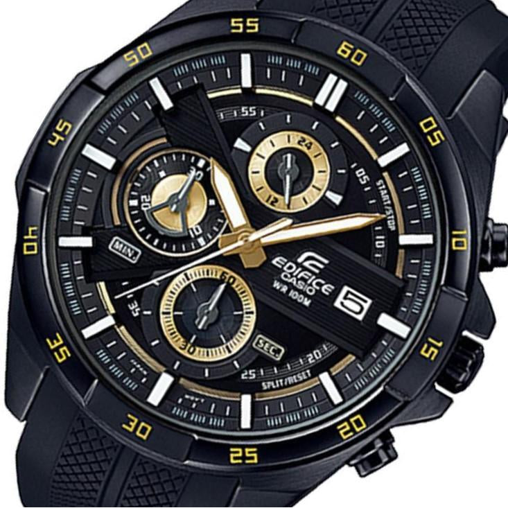 Casio Edifice Black Multi-functional Men's Chrono Watch - EFR556PB-1A