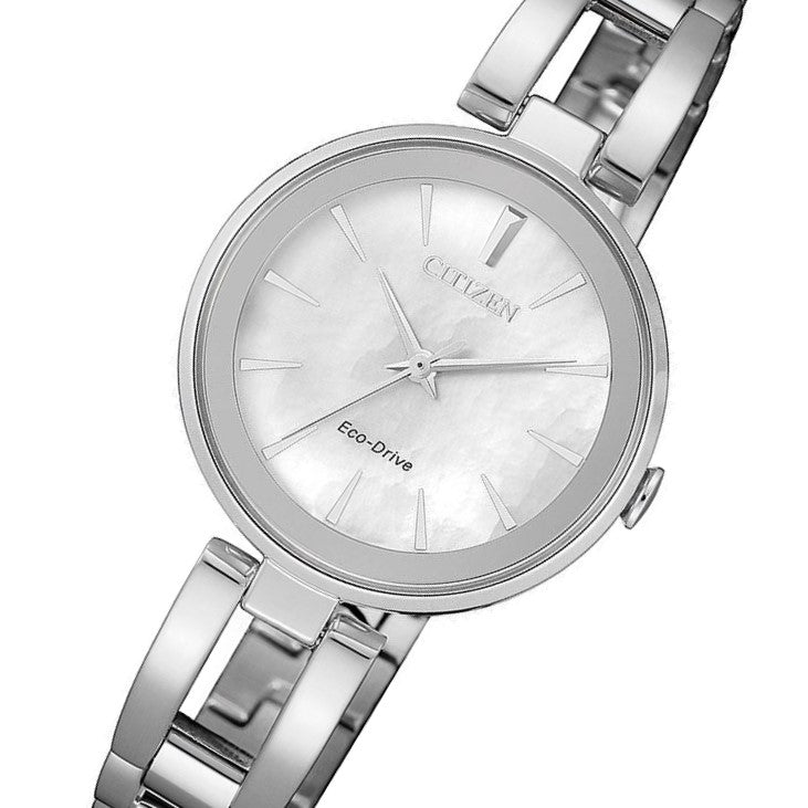 Citizen Ladies Dress Eco-Drive Stainless Steel Watch - EM0631-83D