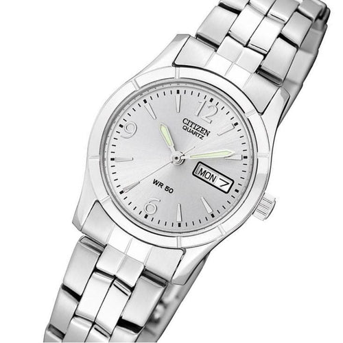 Citizen Ladies Stainless Steel Quartz Watch - EQ0540-57A