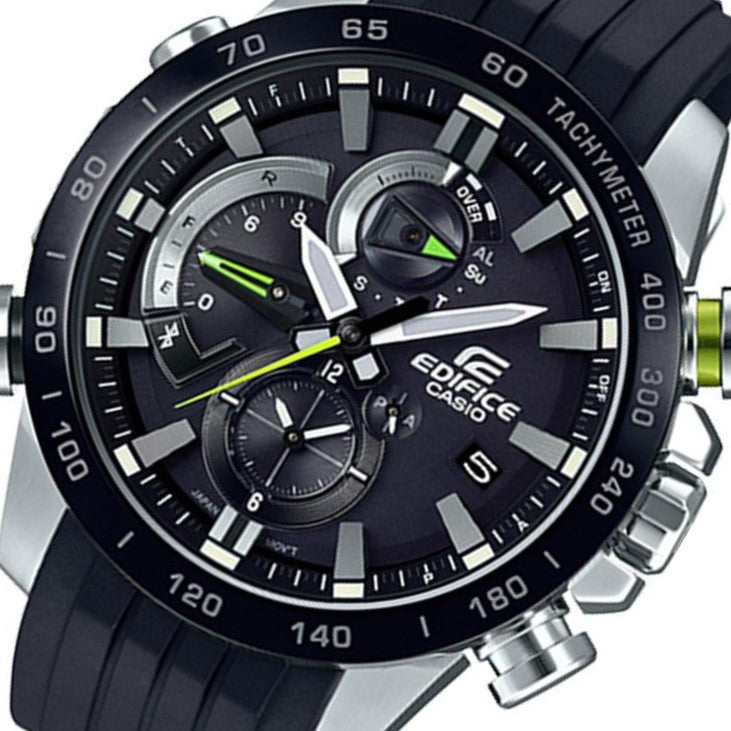 Casio Edifice Race Lap Multi-functional Men's Chrono Watch - EQB800BR-1A