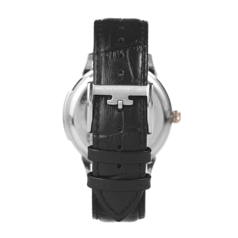 Earnshaw Observatory Automatic Leather Men's Watch - ES-8805-04
