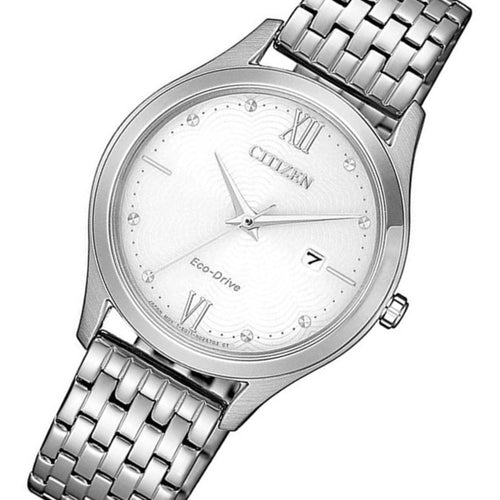 Citizen Stainless Steel Eco-Drive Women's Watch - EW2530-87A