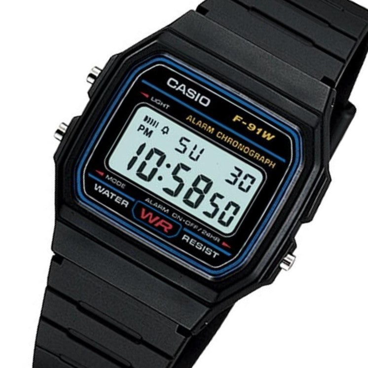 8b8ad1be3 Casio Classic Men's Digital Sport Watch - F91W-1 – The Watch Factory ...