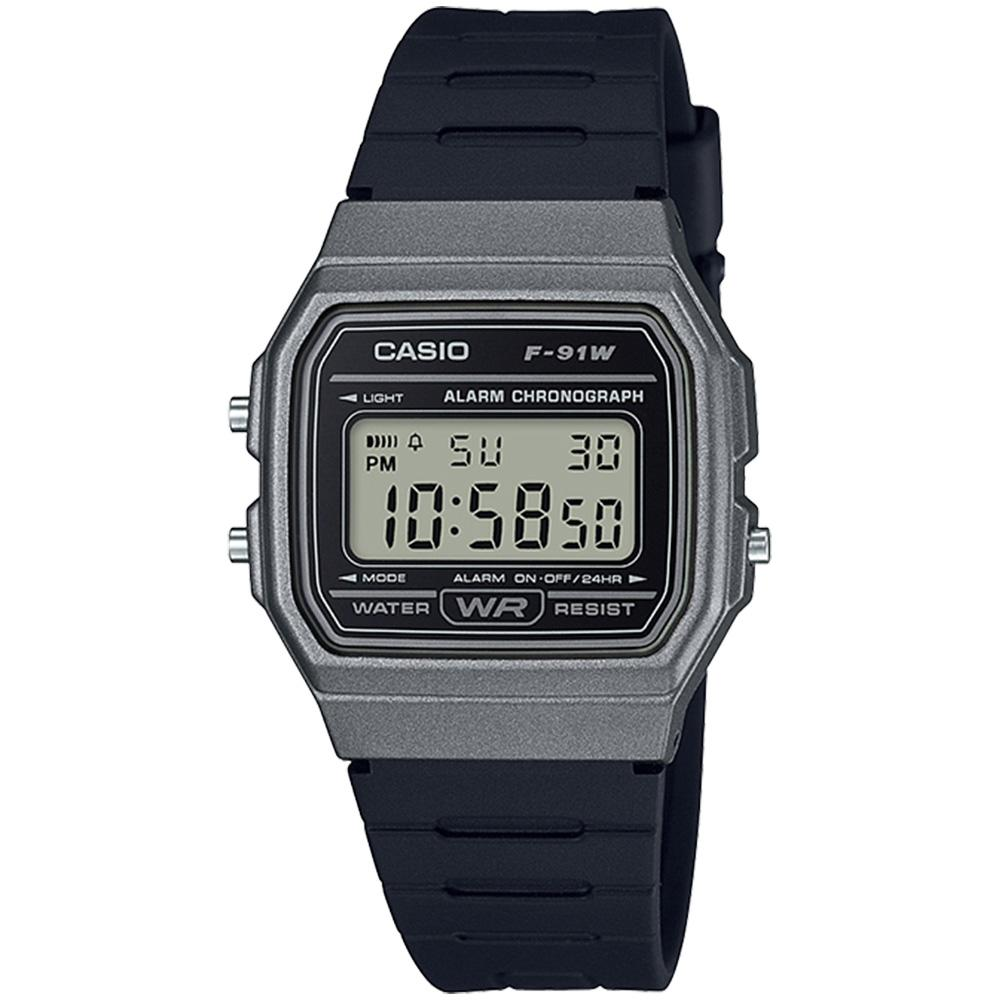 Casio Men's Casual Digital Watch - F91WM-1B