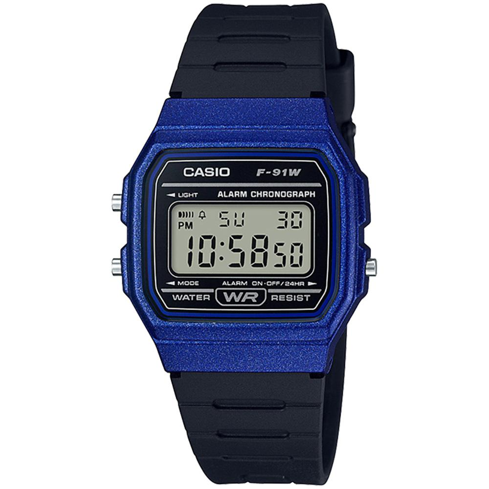 Casio Men's Classic Digital Watch - F91WM-2A