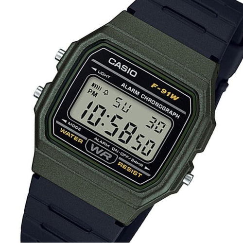 Casio Men's Classic Digital Watch - F91WM-3A