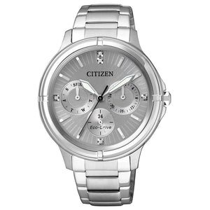Citizen Ladies Dress Eco-Drive Stainless Steel Watch - FD2030-51H