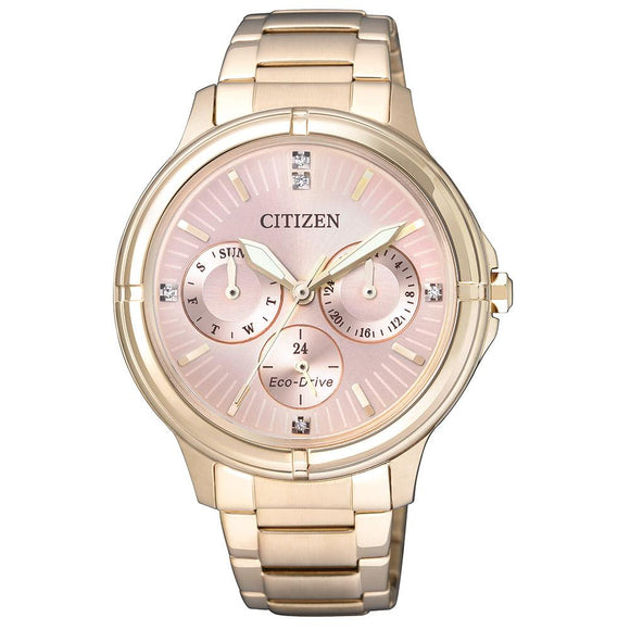 Citizen Ladies Dress Eco-Drive Stainless Steel Watch - FD2033-52W