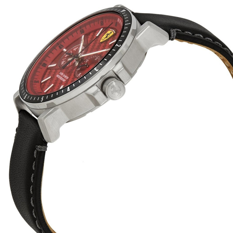 Scuderia Ferrari Turbo Leather Mens Watch - 830449