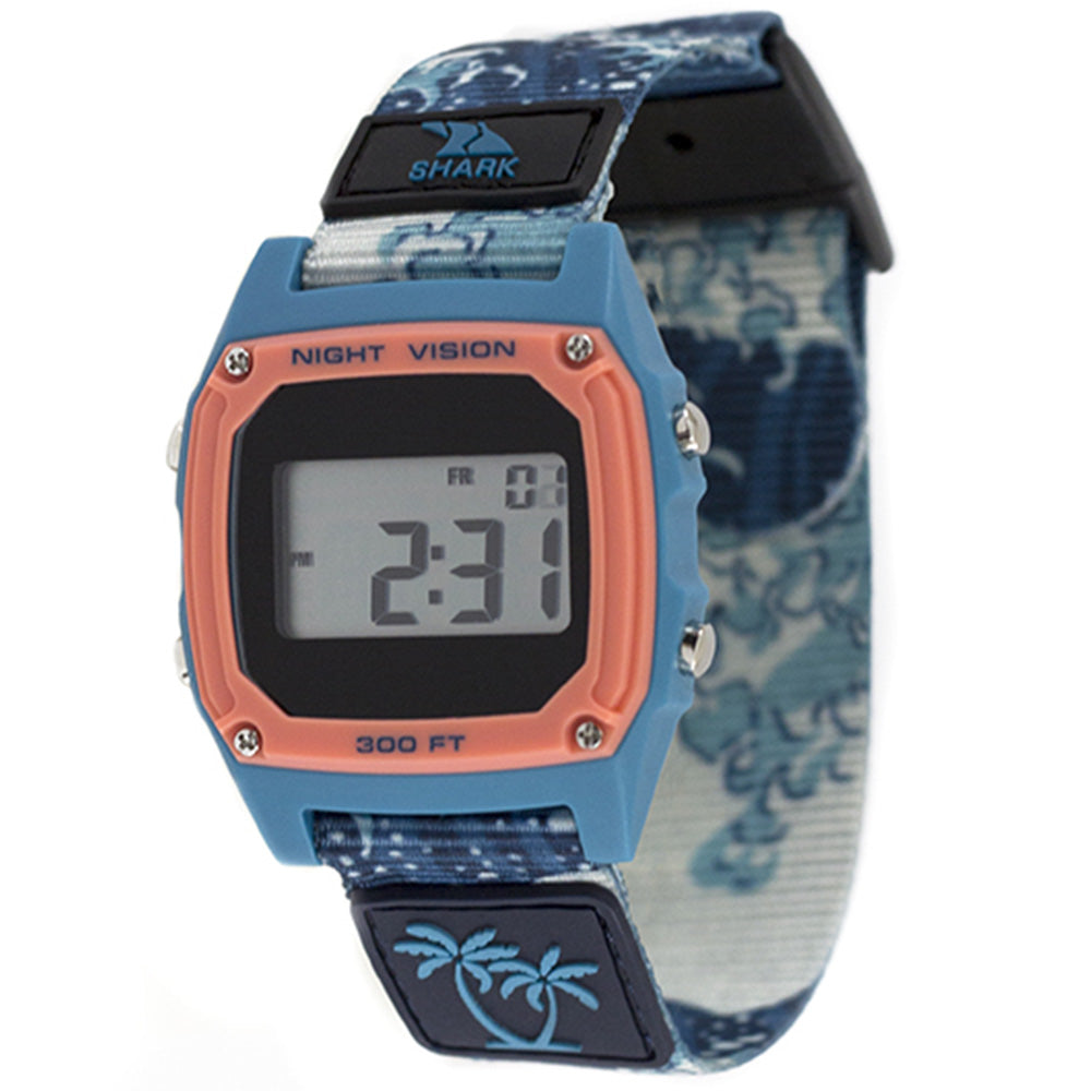 Freestyle Luke Davis Signature Shark Classic Blue Wave Watch - FS101001