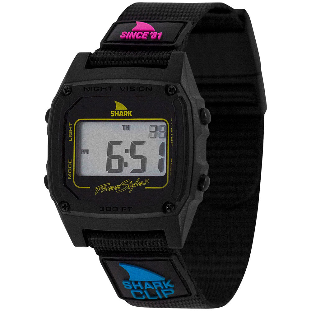 Freestyle Shark Classic Since '81 Primary Black Watch - FS101006