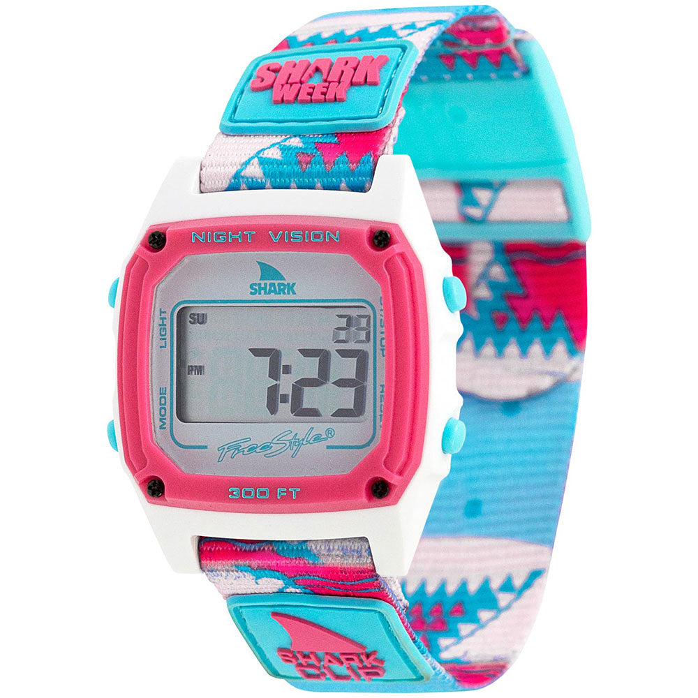 Freestyle Shark Classic Shark Week Pink Teeth Watch - FS101031