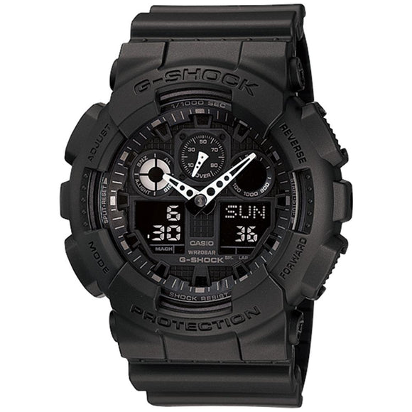Casio G-Shock 55mm Duo Chrono Men's Watch - GA100-1A1