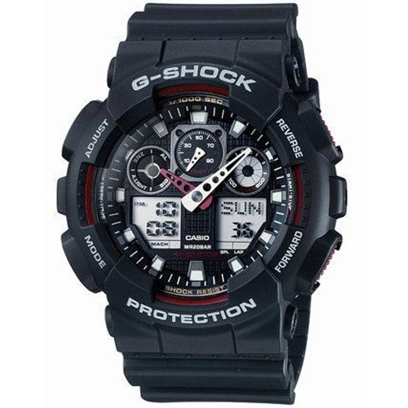 Casio G-SHOCK 35mm Duo Men's Watch - GA100-1A4