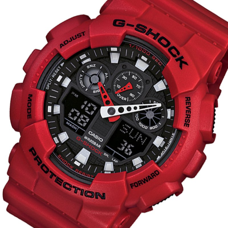 Casio G-SHOCK 55mm Duo Watch - GA100B-4A