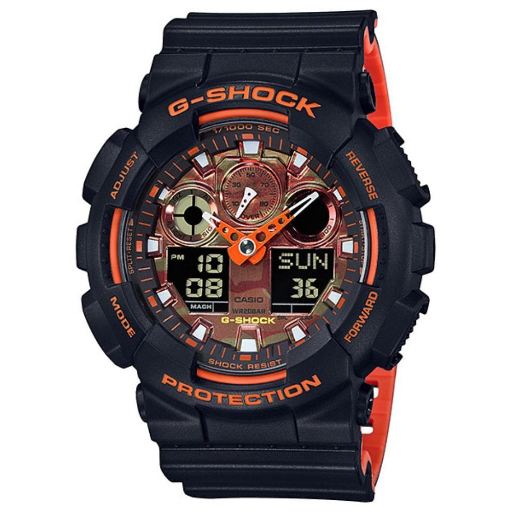 Casio G-Shock Digital Duo Chrono  Men's Watch - GA100BR-1A