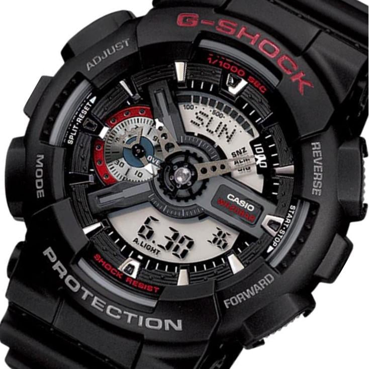 Casio G-Shock Anti-Magnetic 55mm Men's Watch - GA110-1A