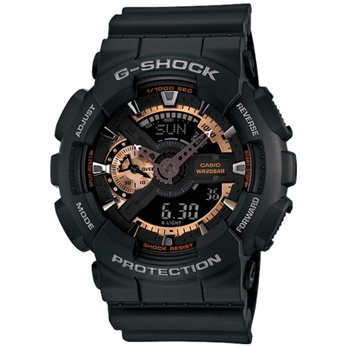 Casio G-Shock X-Large 55mm Duo Chrono Men's Watch - GA110RG-1A