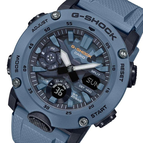 Casio G-Shock Carbon Core Guard Analog-Digital Men's Watch - GA2000SU-2A