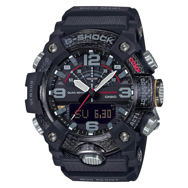 Casio G-SHOCK Mudmaster with Carbon Core Men's Watch - GGB100-1A