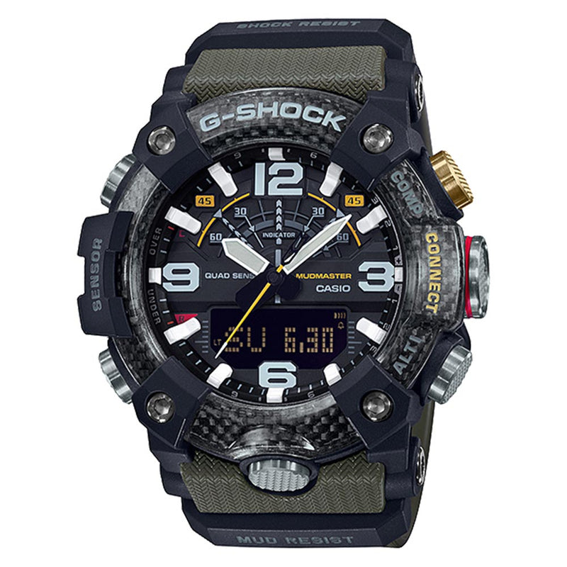 Casio G-SHOCK Mudmaster with Carbon Core Men's Watch - GGB100-1A3