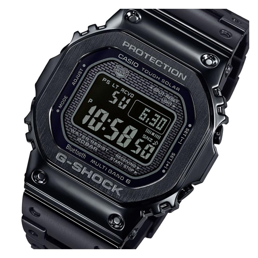 Casio G-Shock 35th Anniversary Limited Edition Black All-Metal Masterpiece - GMWB5000GD-1D