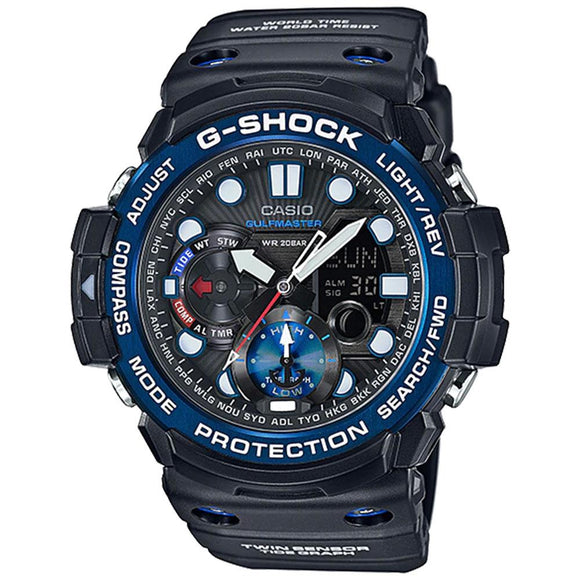 Casio G-Shock Gulfmaster Series Duo Chrono Men's Watch - GN1000B-1A