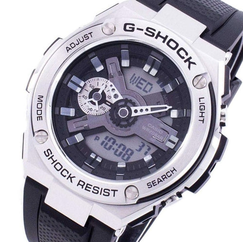 Casio G-Shock G-Steel Analog-Digital Men's Watch - GST410-1A