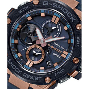 Casio G-Shock G-Steel Tough Solar Men's Watch - GSTB100G-2A
