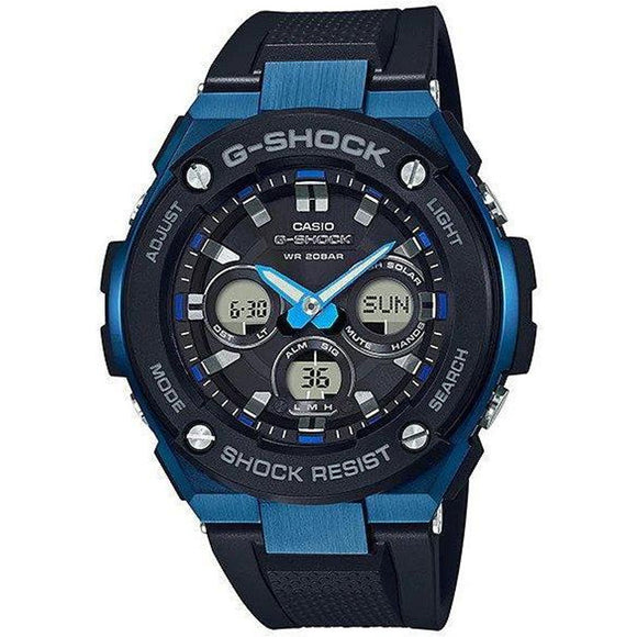 Casio G-SHOCK G-Steel Duo Chrono Watch - GSTS300G-1A2