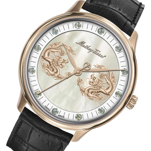 Mathey-Tissot Limited Edition Edmond Dragon And Zodiac Men's Swiss Made Watch - H1886PI1