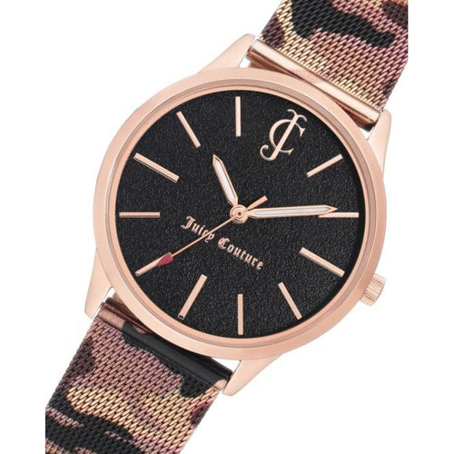 Juicy Couture Rose Gold Mesh Ladies Watch - JC1014RGCA