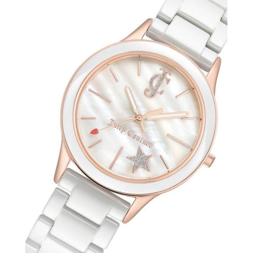 Juicy Couture Ceramic Bracelet Ladies Watch - JC1048WTRG