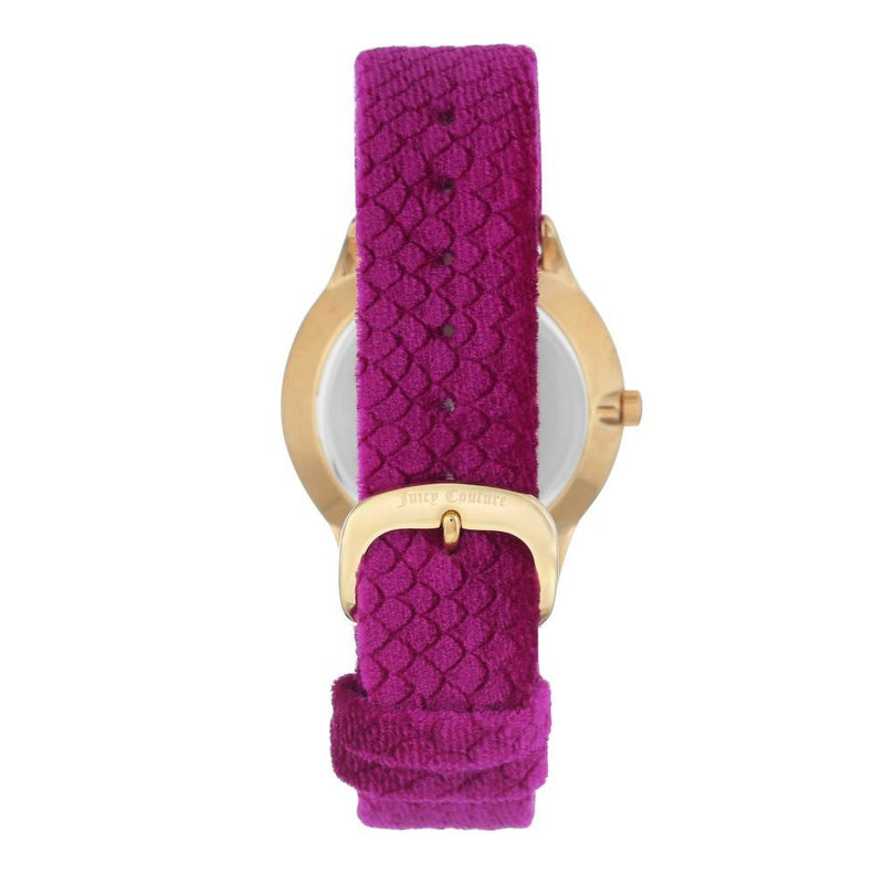 Juicy Couture Pink Velvet Band Ladies Watch - JC1060HPHP