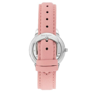 Juicy Couture Light Pink Leather with Swarovski Crystals Ladies Watch - JC1133PKPK