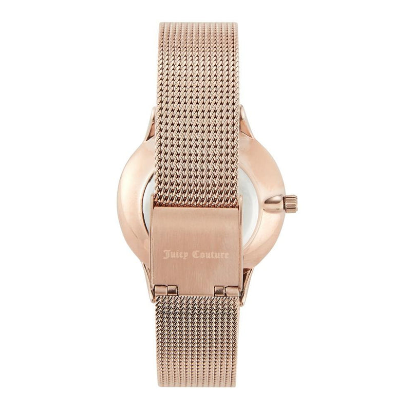 Juicy Couture Rose Gold Mesh Ladies Watch - JC1178NVRG