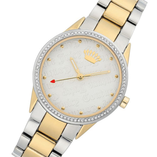 Juicy Couture Two-Tone with Swarovski Crystals Ladies Watch - JC1175SVTT