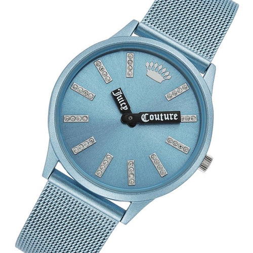 Juicy Couture Light Blue Mesh Women's Watch - JC1289LBLB