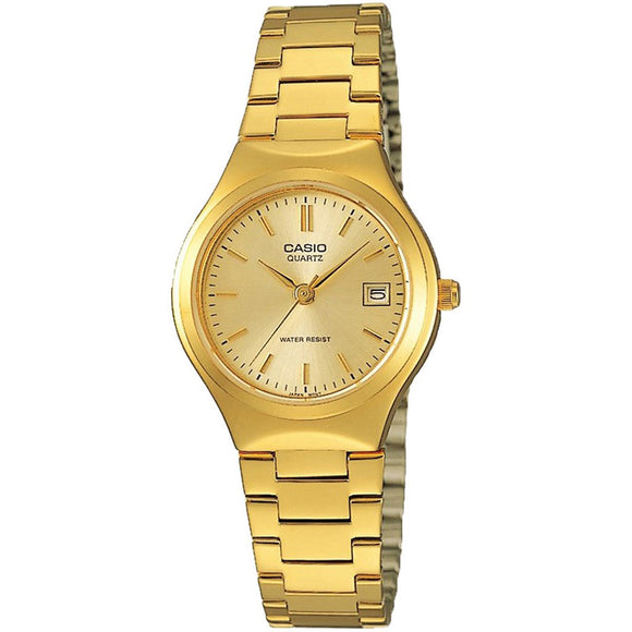 Casio 22mm Women's Classic Gold Watch - LTP1170N-9A
