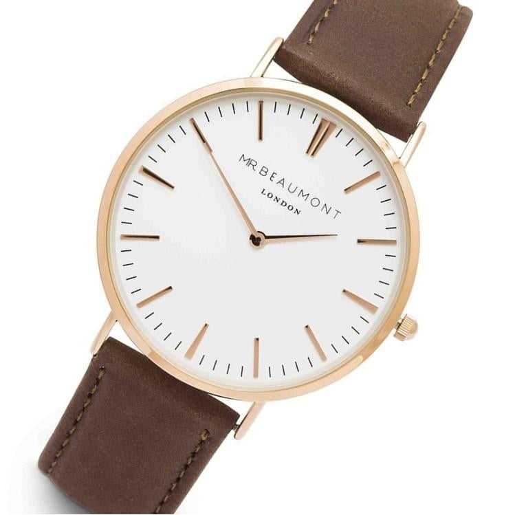 Mr. Beaumont Rose Gold Steel - MB1801.1