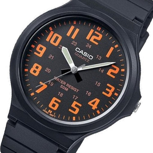 Casio 48mm Classic Analog Unisex Quartz Watch - MW240-4B