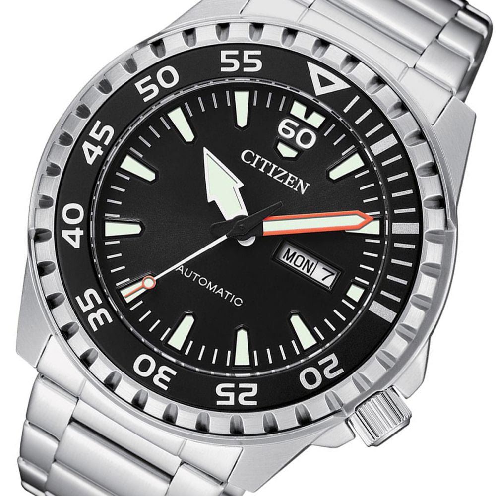 Citizen Stainless Steel Men's Automatic Watch - NH8388-81E