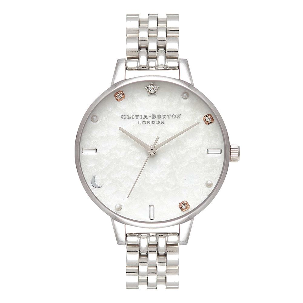 Olivia Burton Celestial Silver Bracelet Ladies Watch - OB16GD30