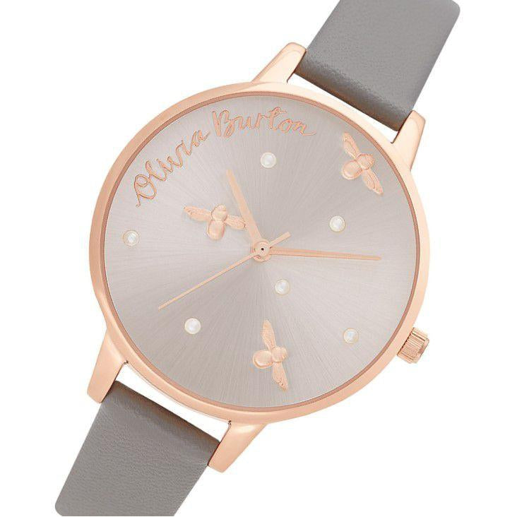 Olivia Burton Pearly Queen Rose Gold Ladies Watch - OB16PQ03