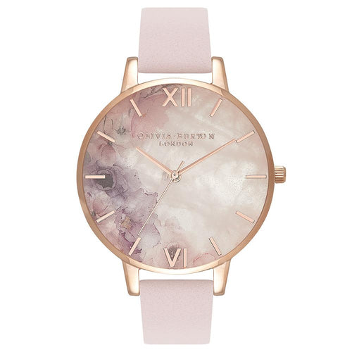 Olivia Burton Precious Blossom Leather Ladies Watch - OB16SP03