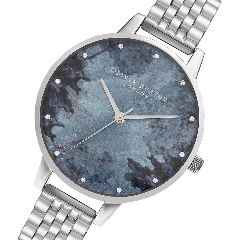 Olivia Burton Under The Sea Silver Bracelet Ladies Watch - OB16US06