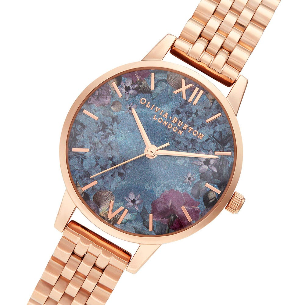 Olivia Burton Under The Sea Rose Gold Bracelet Ladies Watch - OB16US25